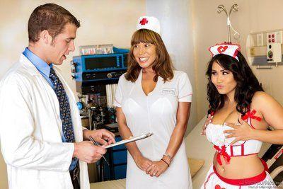 procace Asiatico infermiera Jessica Bangkok è circa Per imparare un Hardcore Sesso Lezione