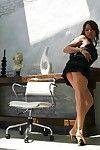 Elegant Asian Iori Miduki gets a full platter of masturbation, oral sex and hardcore pounding