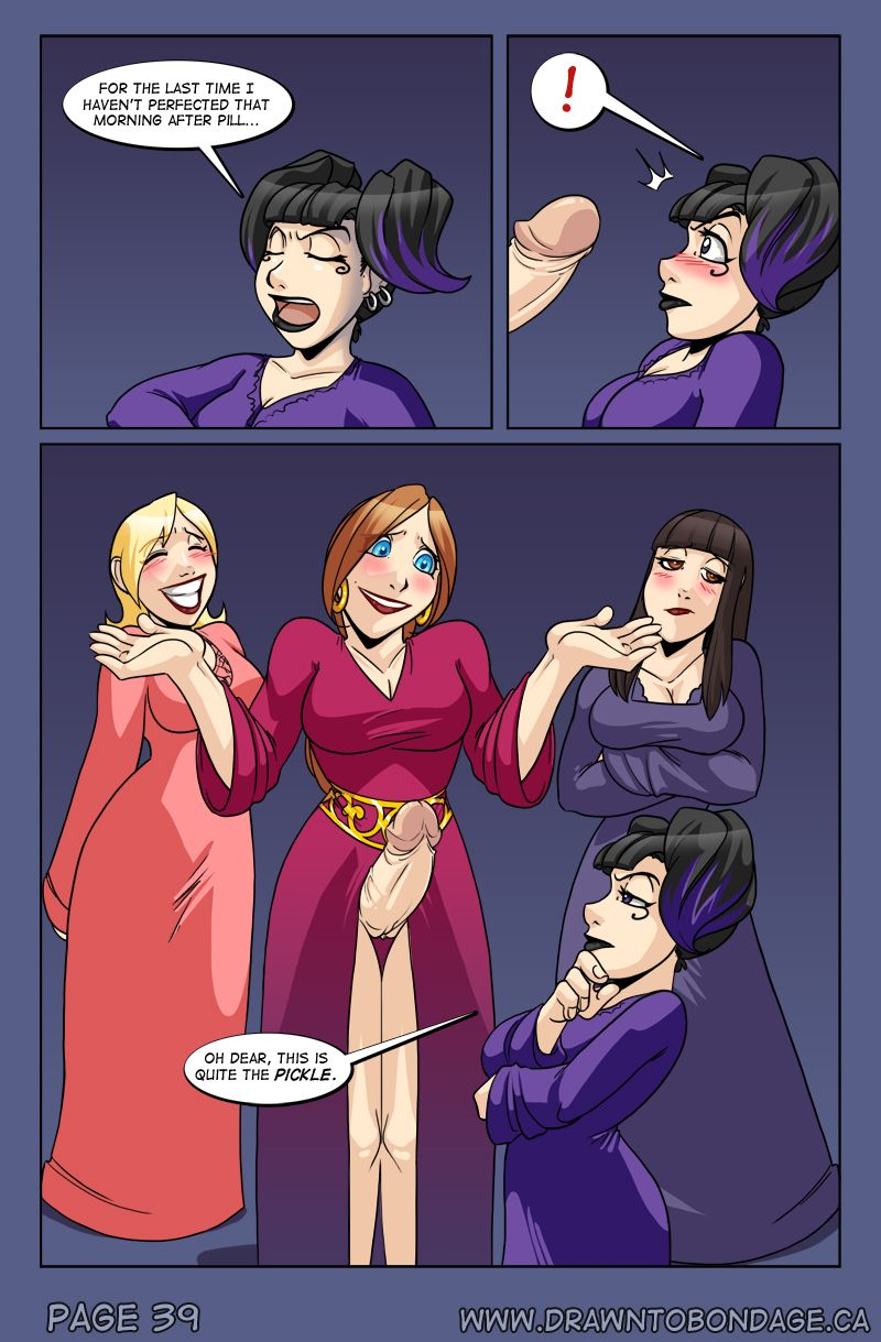 Adorable comics sluts with big tits and cocks