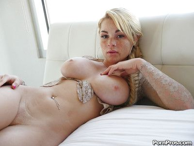 Freckle faced ex-gf Skyla Novea lashing out amazing all usual meatballs