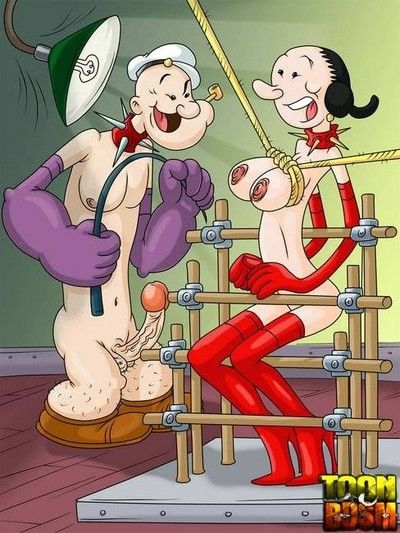 Damp bdsm cartoon characteres everywhere