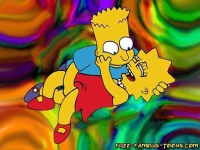Bart simpson seduces lisa  hardcore orgies with lusty bart simps