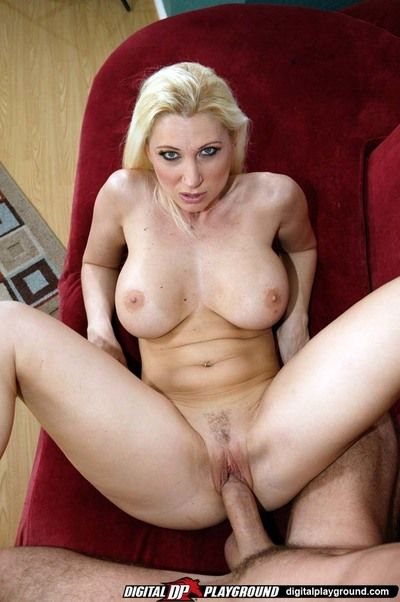 Immense titted delicious fairy milf Devon Lee acquires her juicy pussy pounded hard from your perspective