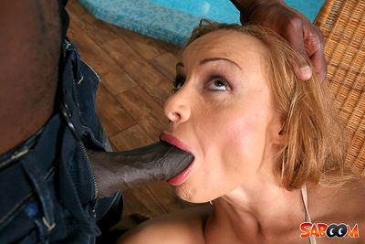Participate rough anal hardcore during dom outdoor scene with Bonny Bon