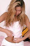 oriental nombre 1 minuterie Annie décapage Nu pour affichage lisse tête adolescent gentile