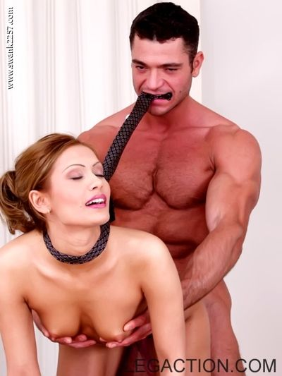 Office guy licks and fucks sexy tight pussy of charming Eva Roberts on his desk