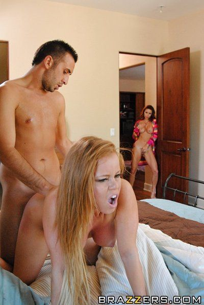 Horny Monique Alexander with long legs and big boobs gets fucked so good