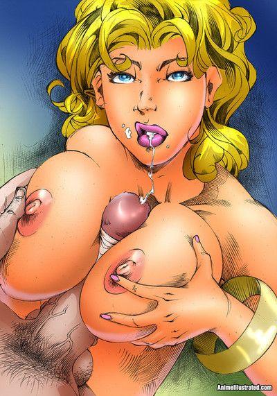 sexy les poussins Avec gros seins baisée Dur