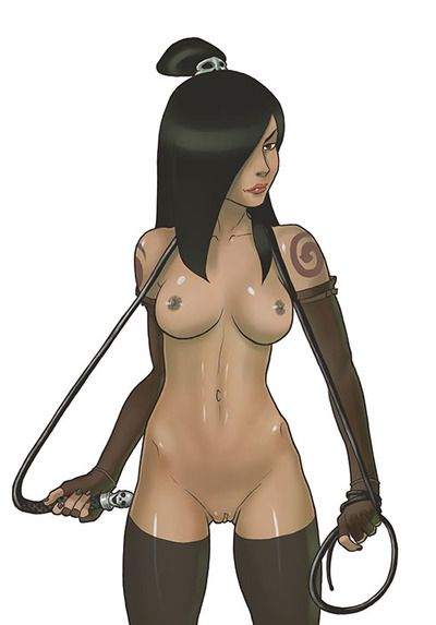 Lovely bitch Korra looks very hot on these pics