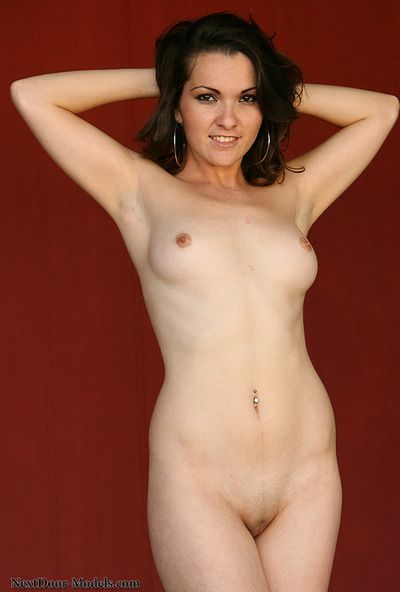 Hot beauty Carmen Herrera loves to show off her innocent shaved pussy