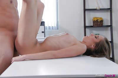 Rough doggystyle fucking and facial cumshot for amateur chick Molly Manson