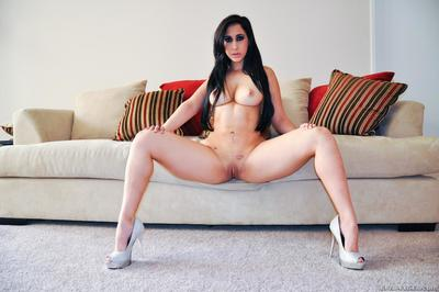 Latina princess Valerie Kay is in the mood to push her ass up and tease...