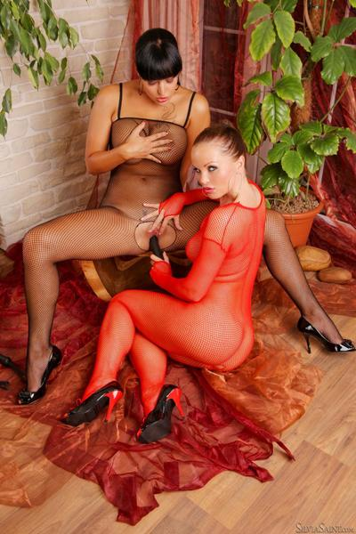 Silvia Saint has a fetish and she is about to share it with her new girl.