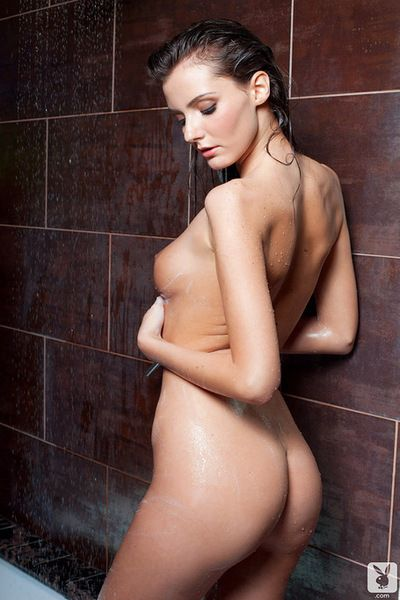 Alluring babe plays sensually during insolent and full of passion solo