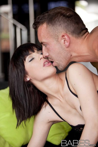 Juvenile girlfriend feels outstanding with a big jock pounding her unyielding holes