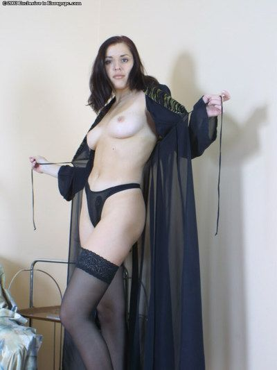 Amateur dear Anna is ready to blow you away with her inexperienced stockings