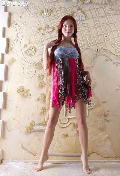 Few angels have a body as extreme as the one on teen redhead Michelle H