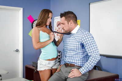 Assy beauty Amirah Adara is staying on her knees with schlong in throat