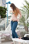Lindsay Bare is one naughty teen eager to show off and tease with her amazing forms
