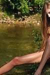 Outdoors we look at a teen pretty model and show us why we have to acquire hard for her