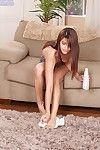 Wild amateur dear Gisele Mona is revealing her ideal rectal opening