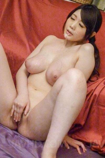 Sitting on her knees this asian bimbo Rie Tachikawa is petting orally dualistic poked cocks