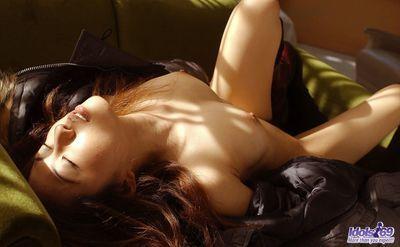 Completely wild dark brown beauty Sumire Idols is demonstrating her consummate body in wild sweaty location