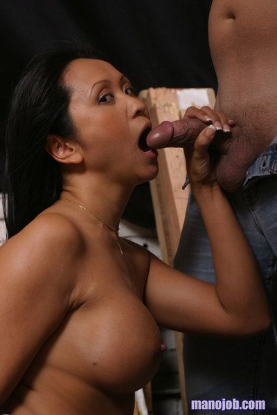 Eastern milf Kitty Langdon is worshipping the sticking weenie and it explodes