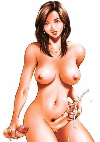 짧 애니메이션 사진 을 기쁘게 흥분 큐티 가 따뜻한 고 Perspired 여자