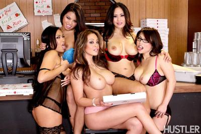 Here is a bunch of Eastern dolls - Jessica Bangkok, Cindy Starfall, Mia Lelani, Mia Rider, Gia Lee.