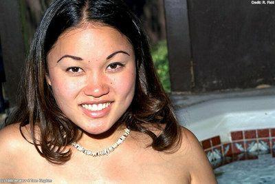 Youthful Japanese sweetheart with usual marangos Mia amazes with solo nudity