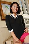 Nice-looking Evelyn Lin inviting u adores the Japanese beauty university
