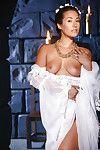 Japanese pornstar Eva Lovia slipping not including sheer underware earlier than jerking off