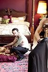 When residence servant mia li breaks the rules, the foremost of the residence takes gabriell