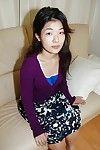 Milf Oriental Yuko Goto shows off her petite marangos in a hawt underclothes