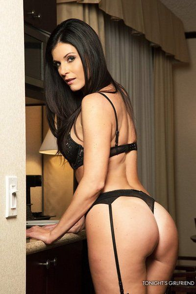 Lewd milf up stockings India Summer likes squeezing dick with the brush hot pussy stoma