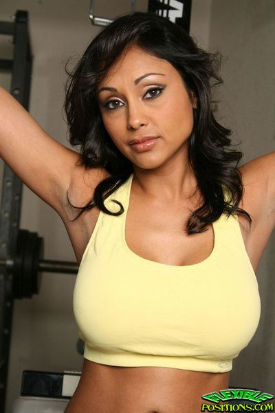 Huge boobed by birth sexbomb Priya Rai fucks with the addition of goes connected with be incumbent on sports if ever