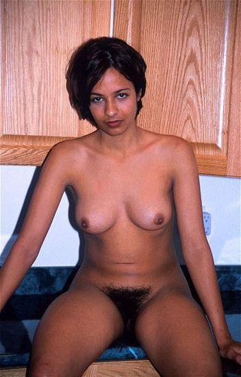 Hairy indian lady
