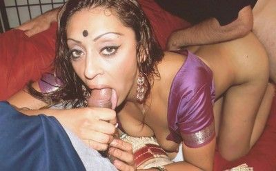 Slutty indian wives drag inflate and fuck immigrant cocks