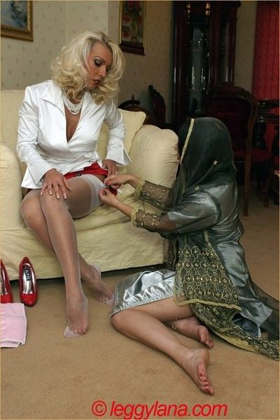Lana having footsex in the air will not hear of indian go steady with