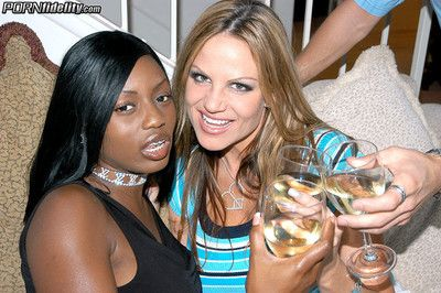 Busty kelly madison with the addition of jada fire ration one tremendous stiff bone