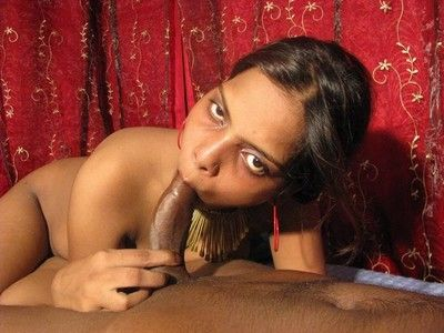 Sex-mad indian babe rides cock of lucky challenge