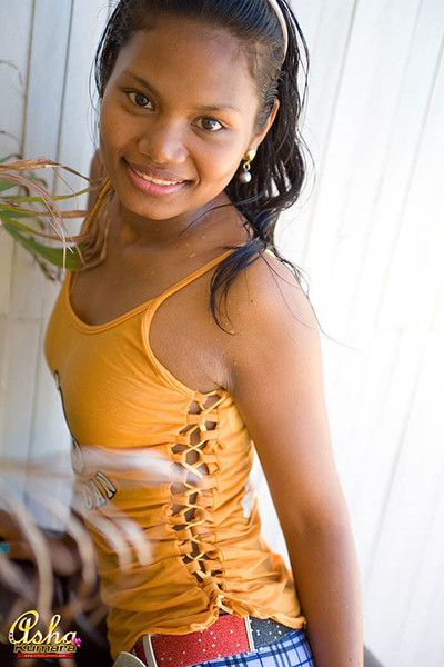 Indian teen asha kumara makes the brush shirt soaking yon show confidential