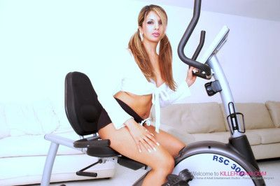 Anjali kara sucks and fucks cock during hardcore workout