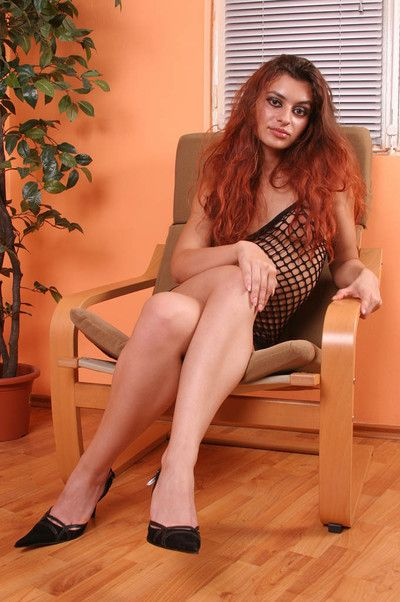 Hot indian babe toying untill get not present