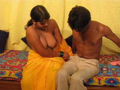 Busty indian fit together gets fucked