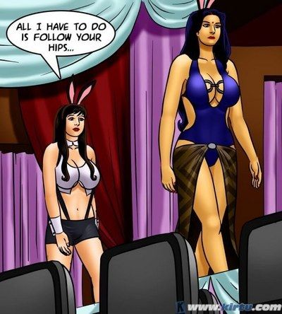Group,Indian Porn,SavitaBhabhi,Adult Comics,Savita Bhabhi -71 � Pussy on the Catwalk