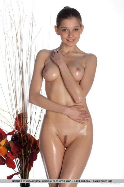 One of the hottest babes, Indiana A is in the sky wet in this portico and she is nude.