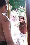 Cute teen Nadia Alli sucks big horseshit with handjob & interracial doggystyle fuck